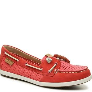 NEW Sperry sz 8.5 Coil Ivy Boat Shoe in Hot Pink